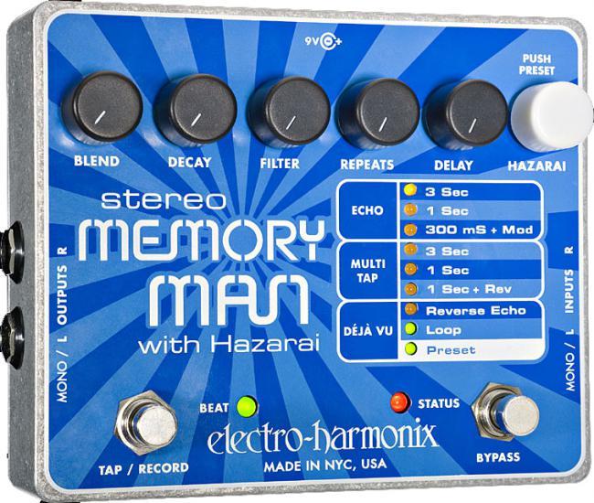 Electro Harmonix Memory Man Hazarai
