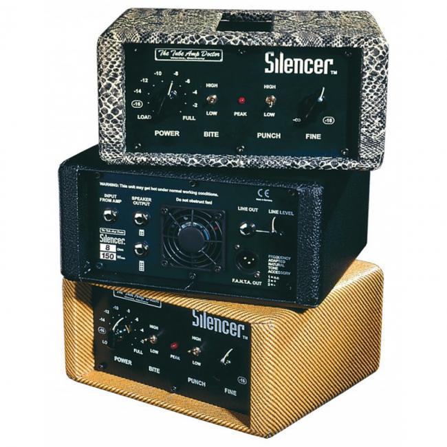 Tube Amp Doctor Silencer Power Attenuator 4 Ohm schwarz