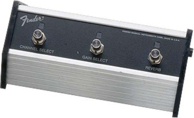 Fender FS 4064 3-button Fußschalter
