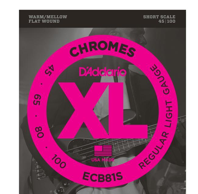 D`Addario ECB81S 45-100 Chromes