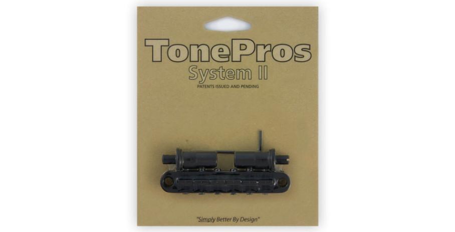 TonePros T3BT - Tune-o-matic Bridge - Black