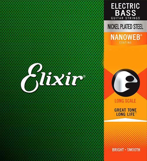 Elixir NanoWeb 14202 Light Bass 45-130