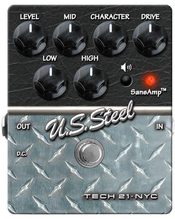 Tech 21 Sans-Amp Charakter US Steel