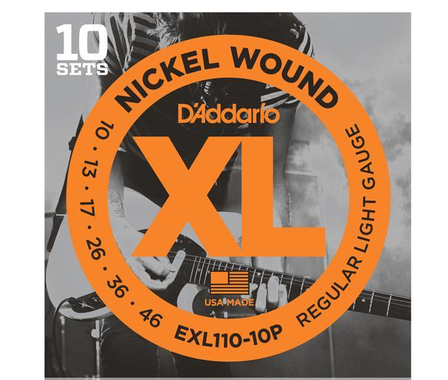 D`Addario EXL110 10-46 10-Sets Vorratspackung