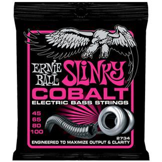 Ernie Ball 2734 Cobalt Slinky Bass 45-100
