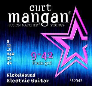 Curt Mangan Nickel Wound 9-42
