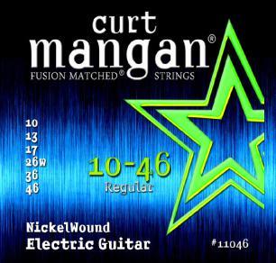Curt Mangan Nickel Wound 10-46