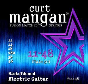 Curt Mangan Nickel Wound 11-48