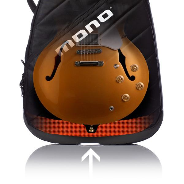 Mono Vertigo Semi Hollow Guitar black