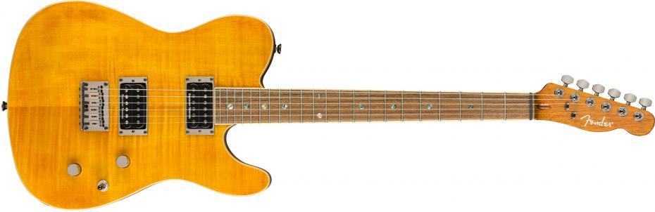 Fender Special Edition Custom Telecaster® FMT HH Laurel Fingerboard Amber