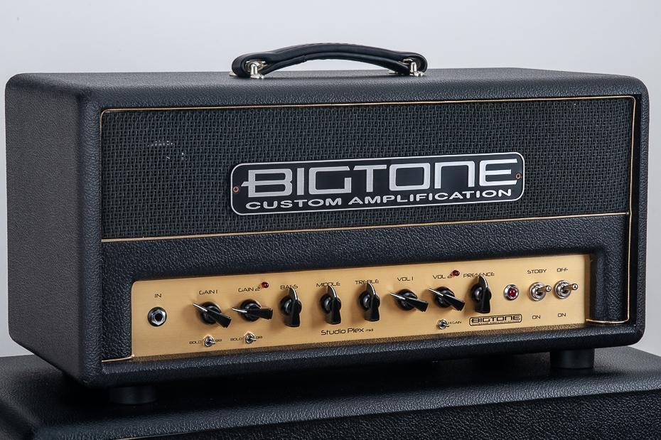 BigTone Studio Plex mkII Head W/BW black