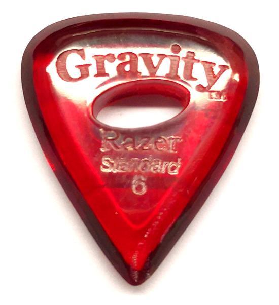 GRAVITY Razer Standard 6 polished E-Hole red