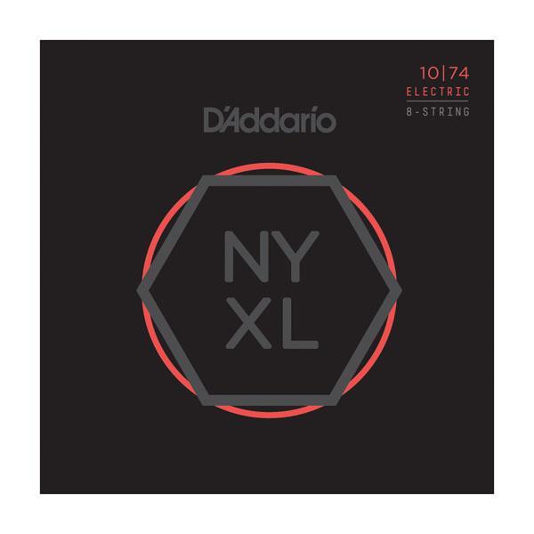 D´Addario NYXL1074 High Carbon 8-Saiter