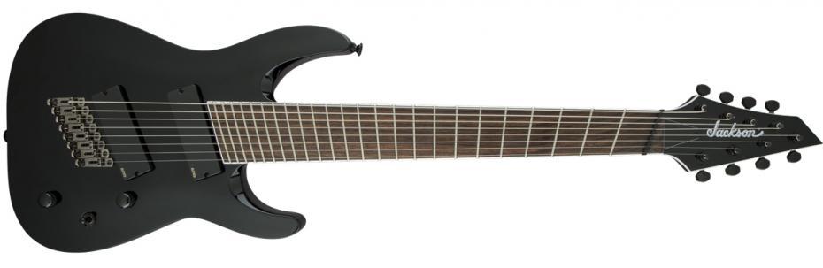 Jackson Soloist Archtop SLAT8 FF MS black