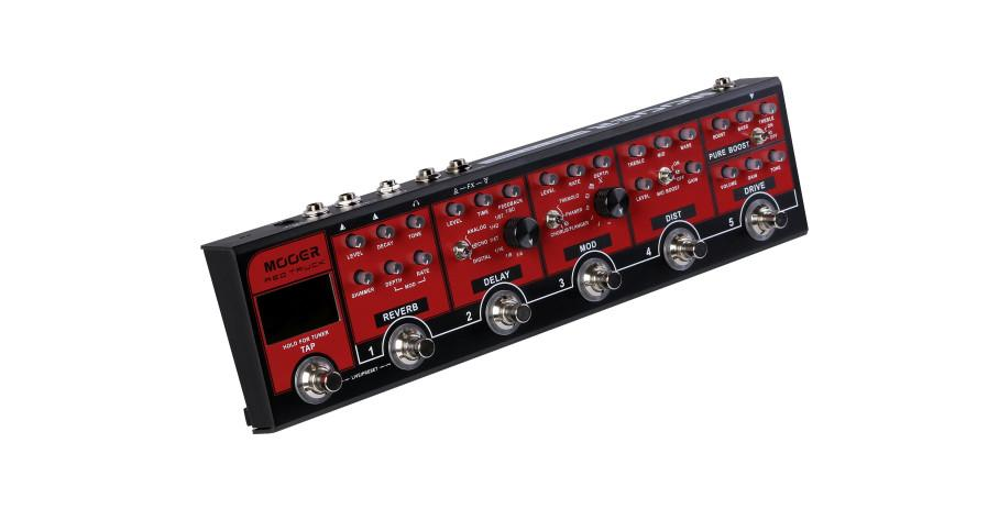 Mooer Red Truck Combined Pedal