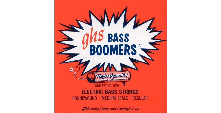 GHS Bass Boomers 3045 45-105 medium scale