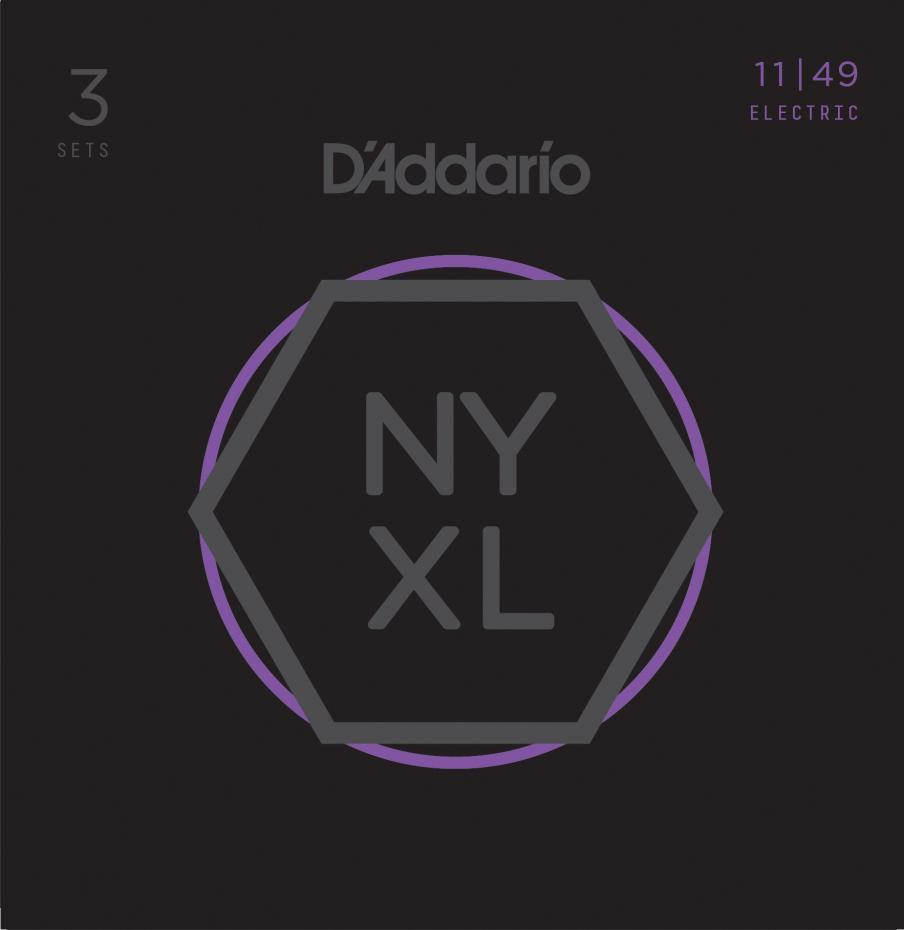 d´Addario NYXL1149-3P 3er-Set High Carbon