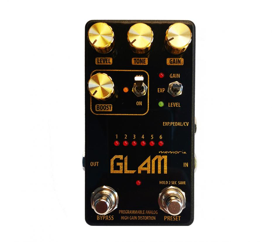 Servus! Glam Programmable High-End Analog Distortion