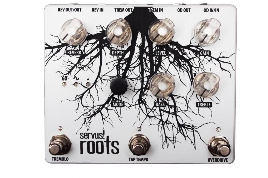 Servus! Roots Trem/Drive/Reverb