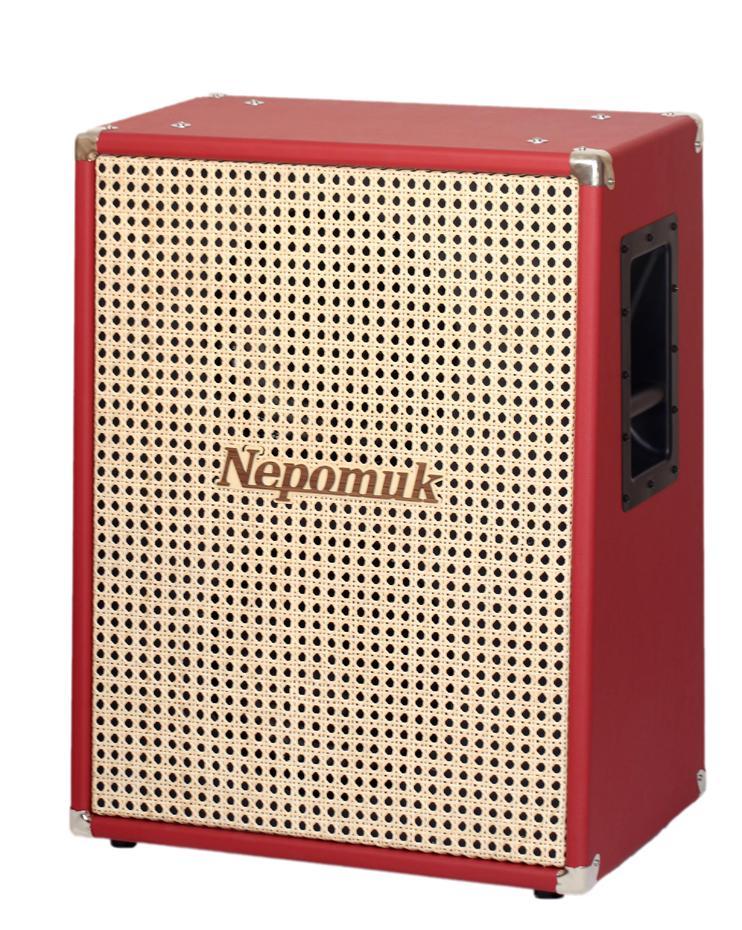 Nepomuk Box N212U2-W 2x12 Upright