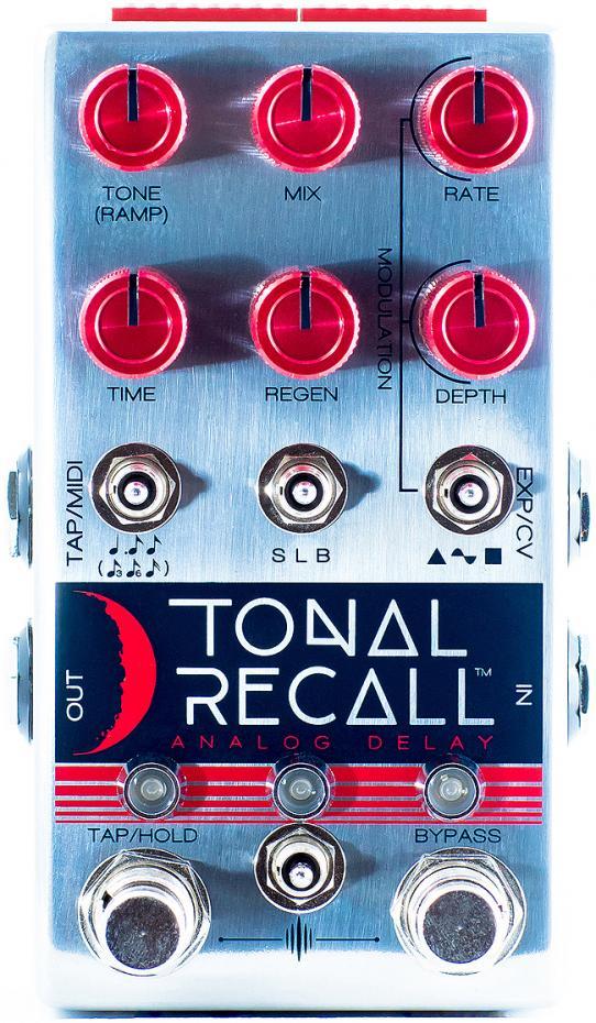 Chase Bliss Audio Tonal Recall RKM Red Knob