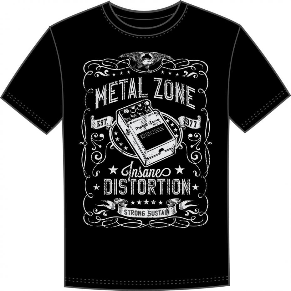 Boss T-Shirt MT-2 Pedal medium