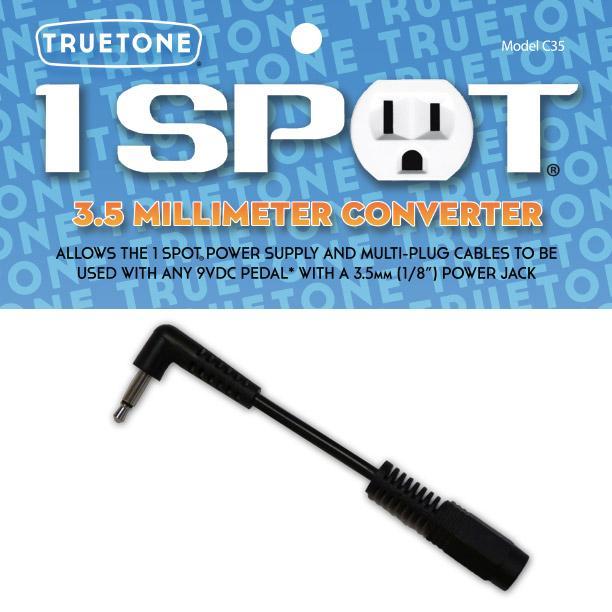 Truetone One Spot C35 3,5 Millimeter Converter