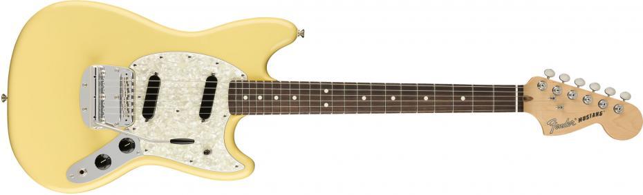 Fender American Performer Mustang Rosewood Fingerboard Vintage White