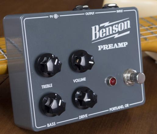 Benson Preamp Overdrive/Distortion Pedal