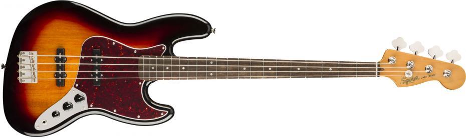 Squier Classic Vibe 60s Jazz Bass® Laurel Fingerboard 3-Color Sunburst