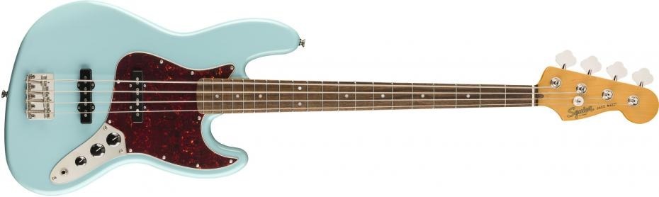 Squier Classic Vibe 60ies Jazz Bass® Laurel Fingerboard Daphne Blue