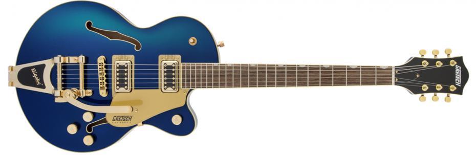 Gretsch G5655TG-CB Junior Bigsby azure metallic