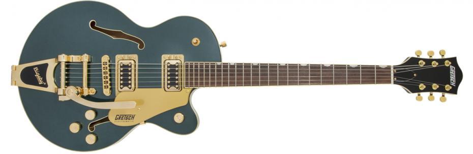 Gretsch G5655TG-CB Junior Bigsby cadillac green
