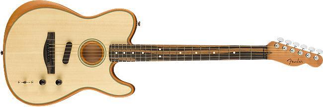 Fender American Acoustasonic Telecaster Natural  B-Stock