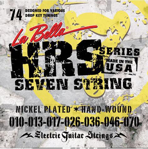 La Bella HRS-74 10-70 7-String
