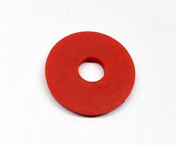 Gurtsicherung Gummi Rot