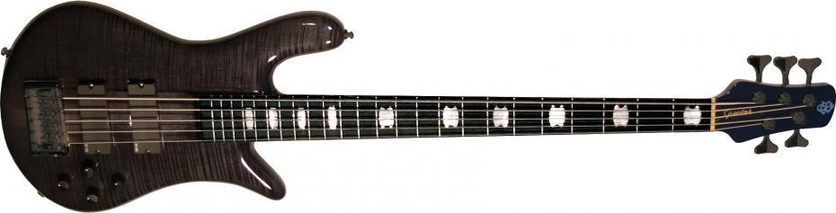 Spector Euro 5 LX black stain gloss ebony