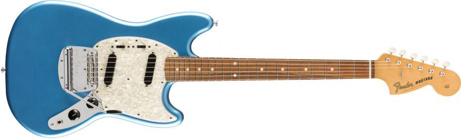 Fender Vintera 60s Mustang Pau Ferro Fingerboard Lake Placid Blue B-Stock