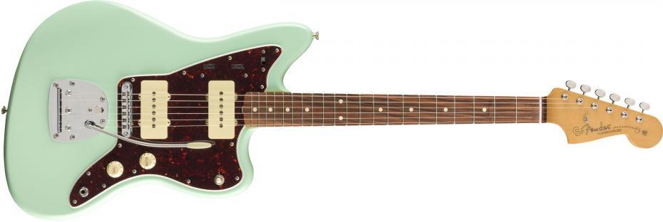 Fender Vintera 60s Jazzmaster® Modified Pau Ferro Fingerboard Surf Green