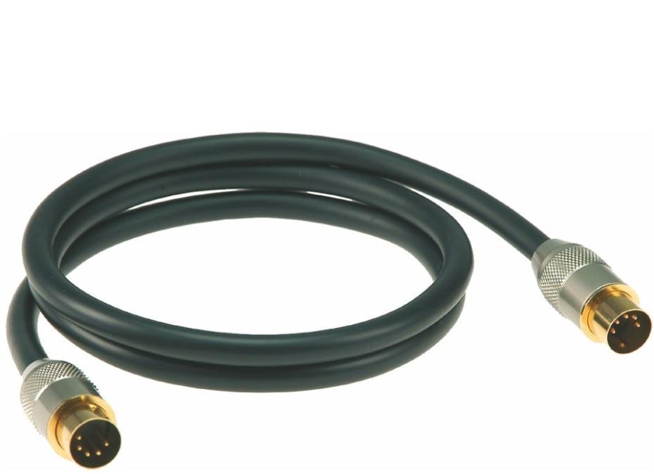 Klotz Premium MIDI Kabel 1m