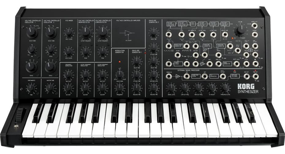 Korg MS-20-FS-Black Synthesizerlegende im Ful