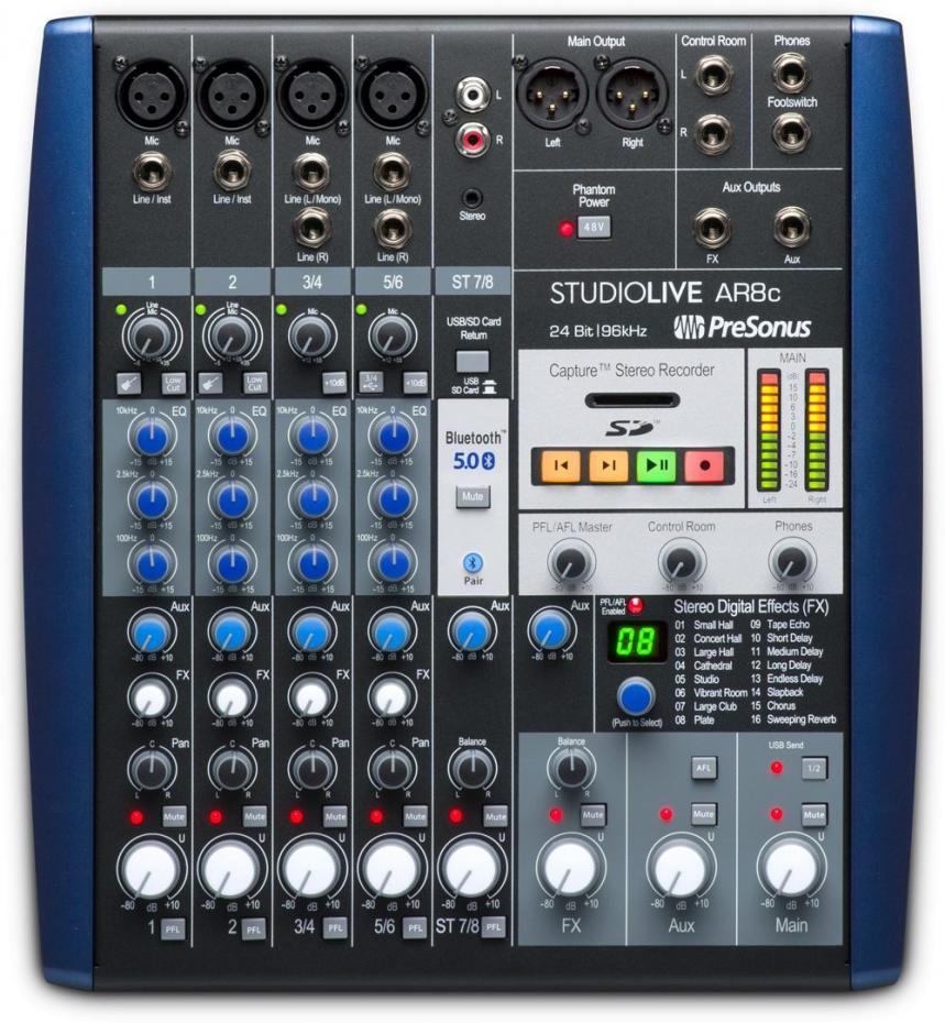 Presonus StudioLive AR 8c
