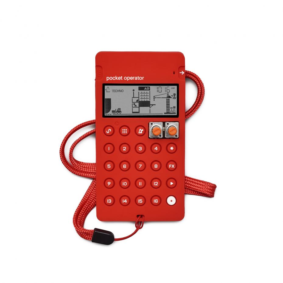 Teenage Engineering CA-X Softcase red