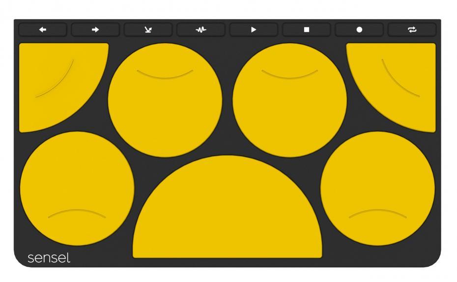 Sensel Morph Drum Pad Overlay