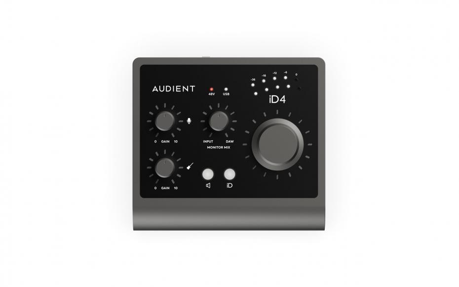 Audient iD4 MKII USB C Interface