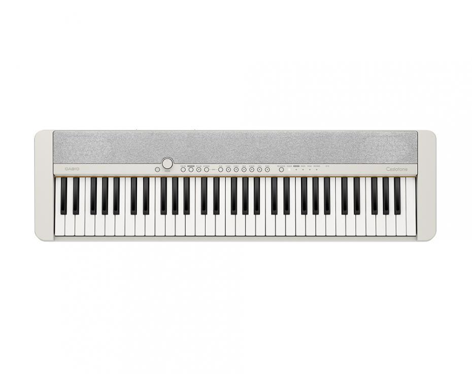 Casio CT-S1-WE Keyboard weiß