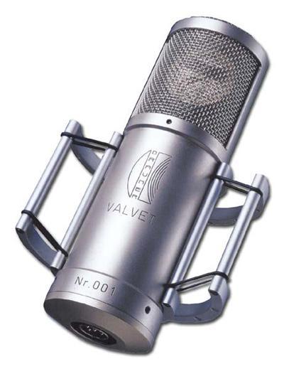 Brauner Valvet Röhrenmikrofon incl.Case