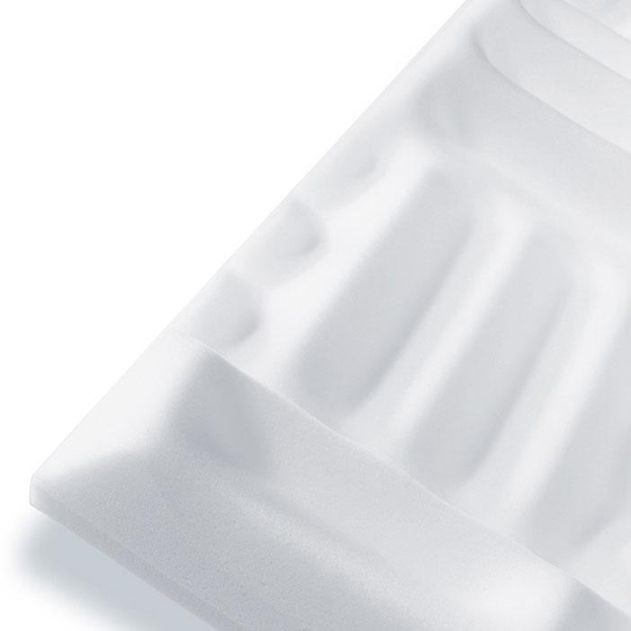 Pinta Waffel 45 weiß