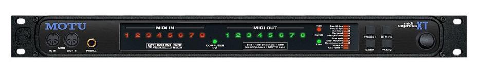 MotU MIDI-Express XT USB