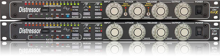 EmpiricalLabs EL-8XS Distressor Stereo&BritishMode